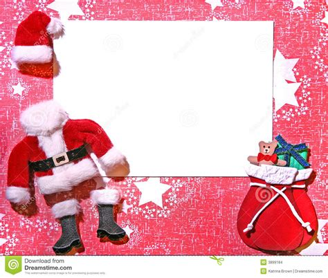 christmas themed 3d paper craft card stock photo image 3899184