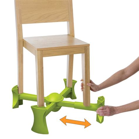 kaboost green kaboost booster seat goes under the chair