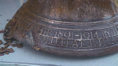 Sinking Of Hood by Mighty Hood S Bell Recovered From Sea Bed After 74 Years