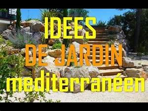 Idee Jardin Méditerranéen. creation jardin mediterraneen eclairage ...