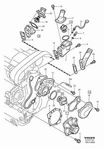 Where Is The Engine Coolant Temp Sensor For 2001 Volvo S80 2 9l