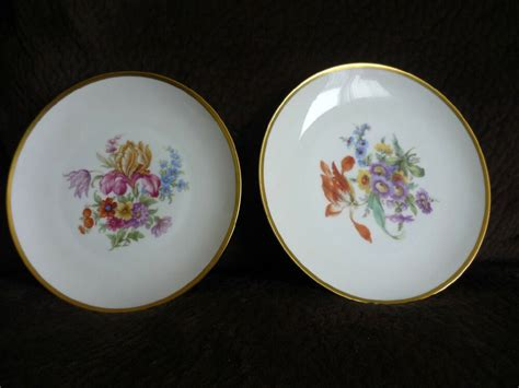 bavaria tirschenreuth germany two lovely vintage p t tirschenreuth plates bavaria germany ebay