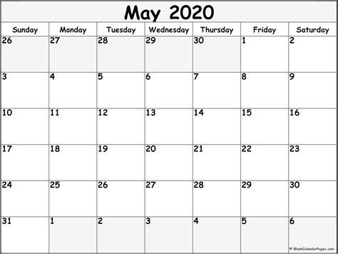 blank calendar collection