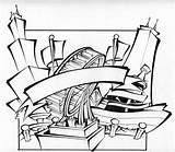 Silkscreen Designlooter sketch template