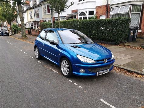 peugeot 206 gti peugeot 206 gti with lpg in leicester leicestershire