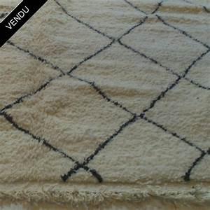 Tapis berbere beni ouarain moyen atlas maroc for Tapis berbère beni ouarain