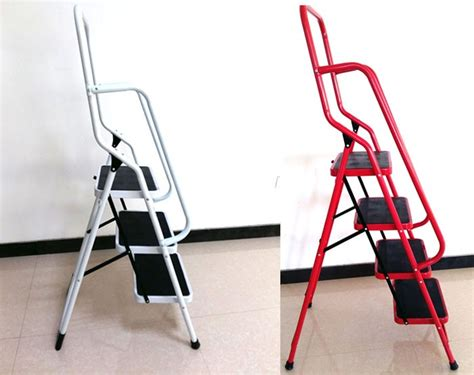 3 Step Household Ladder With Handle