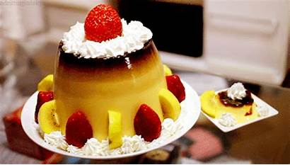 Gifs Mouth Dessert Watering Cake Chocolate Pudding