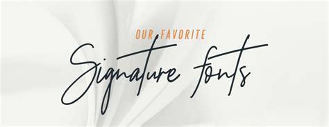 signature fonts  logo design colormelon