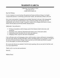 Cover Letter For Jobs Not Advertised Receptionist Cover Letter Example Executive Public