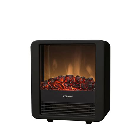mini cube blackred kw portable electric fire model
