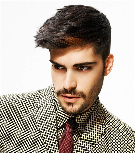 men s haircut with modern elements and a wow factor