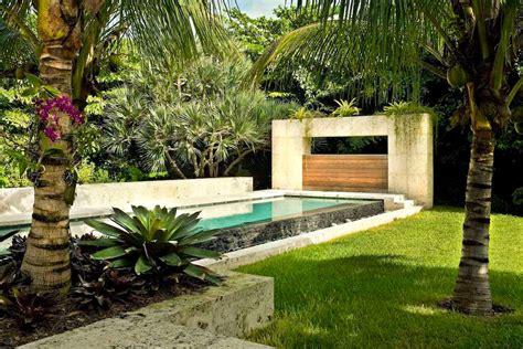 modern landscaping ideas for backyard modern tropical landscape design