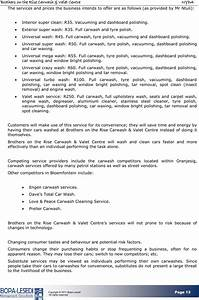 download car wash business plan sample1 for free page 13 With car wash business proposal letter