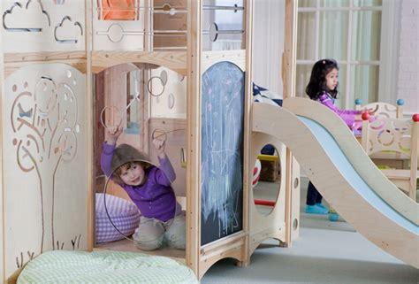 toboggan chambre lit enfant pour la chambre fille ou garçon en 41 exemples