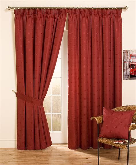 cheap lined top pencil pleat jacquard curtains