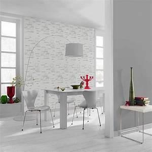 papier peint cuisine bureaux prestige With tapisserie de cuisine moderne