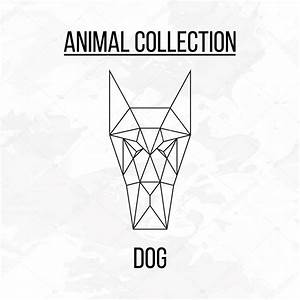 Geometric dog head — Stock Vector © aliakseizykau.gmail ...