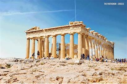 Ruins Around Ancient Reconstructed Expedia Parthenon Nohoch