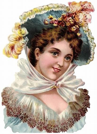 Victorian Paper Scraps Clipart Clip Ephemera Woman