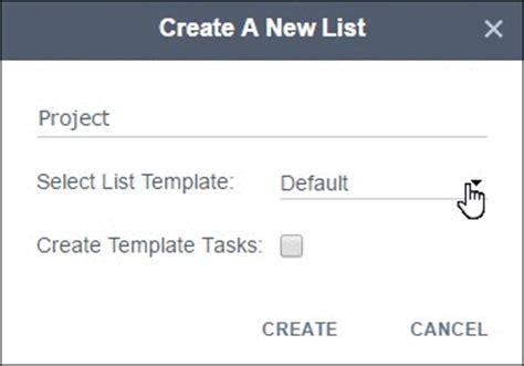 Drop List Inside Inside Templates by Yanado Task Management Inside Gmail