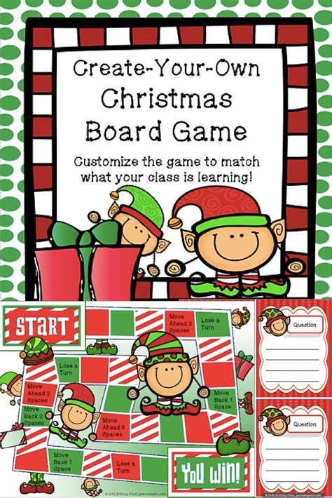 board game christmas templates festival collections