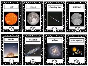Space Vocabulary Cards - This is a set of 16 space ...