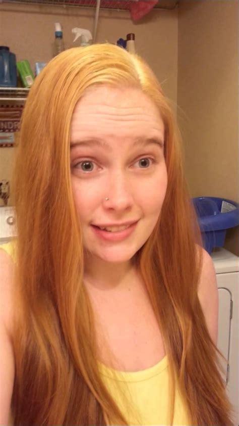 blue hair dye brown to strawberry