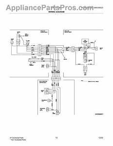 Parts For Frigidaire Frt21fg4cq2  Wiring Diagram Parts