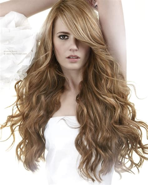 Images Of Hair by Hairstyle With Waves And A Heavy Side Part