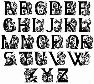 ornate gothic letter - Google Search | lettering ...