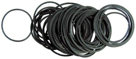 14-30mm 100 Flat Gaskets 0 Rings Seal Rubber Washers For