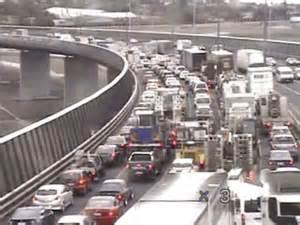 Melbourne Freeway Traffic