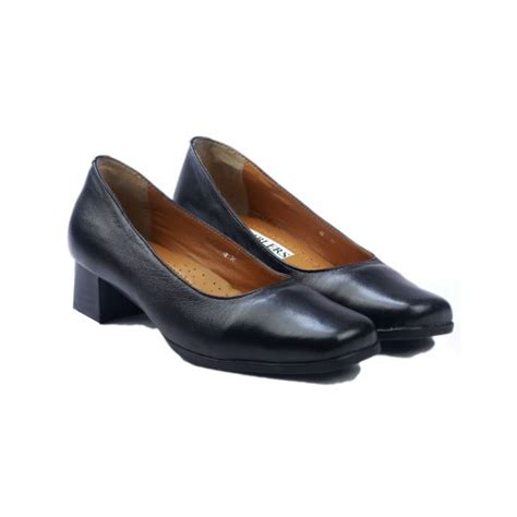 amblers walford wide fit black court shoes charnwood footwear