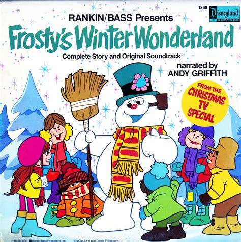 Disney Rankin Bass Frostys Winter Wonderland Narrated