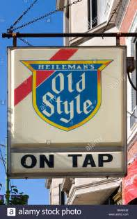 Heileman's Old Style Beer Sign