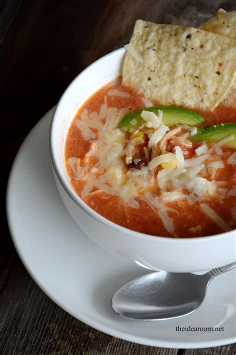 crock pot tortilla soup crockpot chicken tortilla soup recipe
