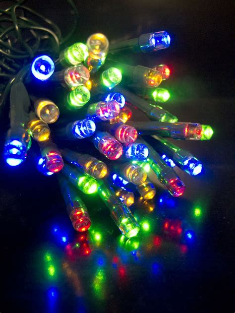100 multi colour lighting connect super bright led string