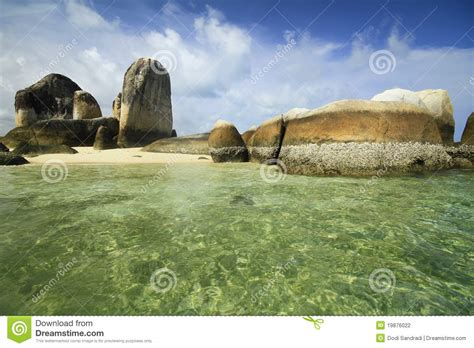 belitung island stock photo image  belitung blue