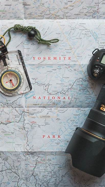 Travel Map Iphone Compass Wallpapers Background Camera
