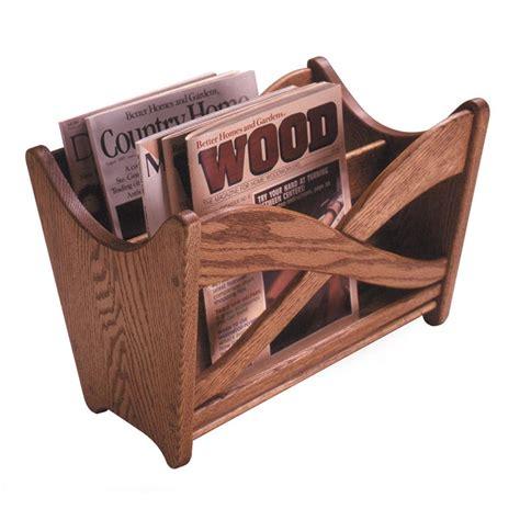magazine rack woodworking plan  wood magazine