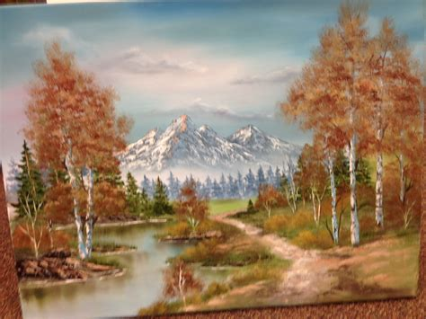 Upcoming Events Bob Ross Oil Painting Class