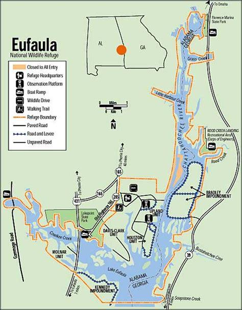 Eufaula National Wildlife Refuge National Wildlife Refuges
