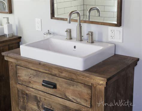 Badezimmer Spiegelschrank Landhausstil by White Woodworking Projects