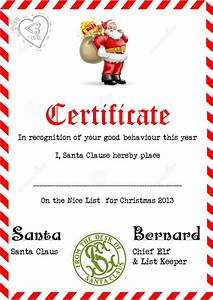 3 piece printable christmas letter from santa love a With santa letter and certificate