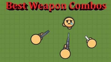 zombs royale combos weapon