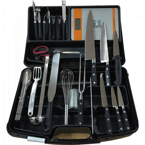 ustensiles de cuisine pro mallette couteaux et ustensiles cuisine eurolam