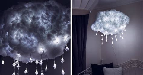 diy cloud light   handcrafted   bring airy