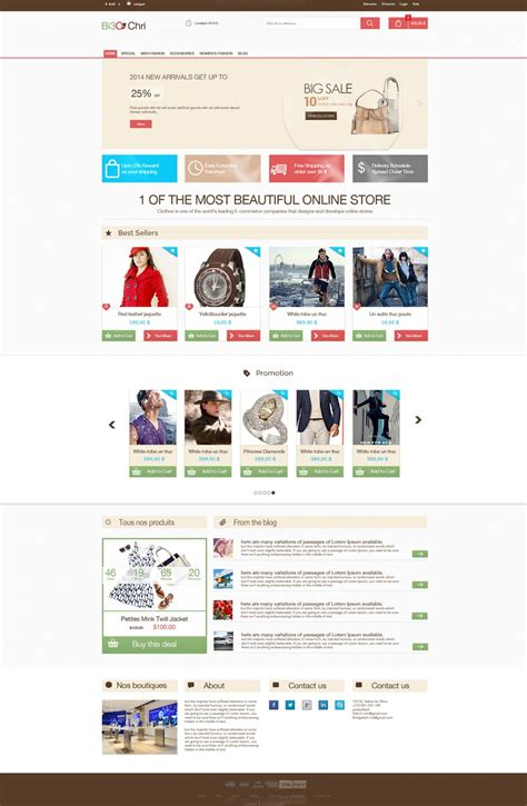 free ecommerce website templates free ecommerce web templates psd 187 css author