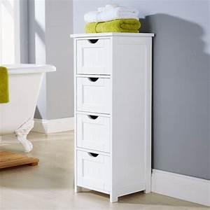 colonne salle de bain pensez a exploiter l39espace With petit meuble salle de bain pas cher